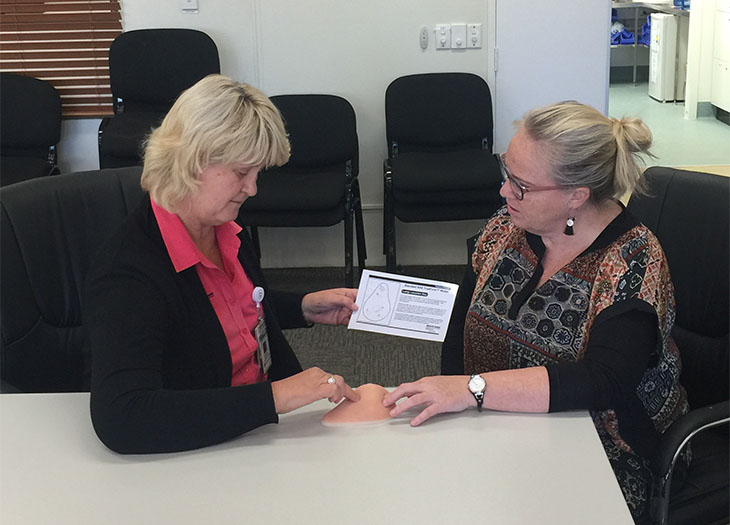 Breast cancer wellness program for Maranoa - South West
