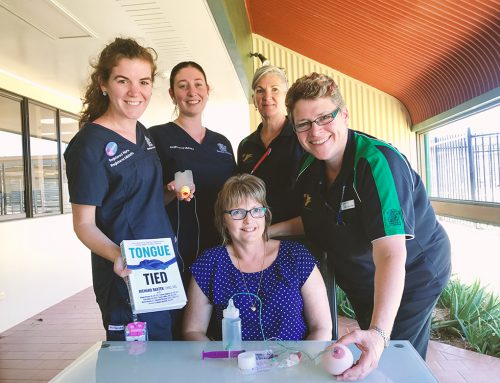 Expert delivers lactation education sessions in South West