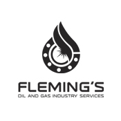 Fleming's Oil and Gas logo