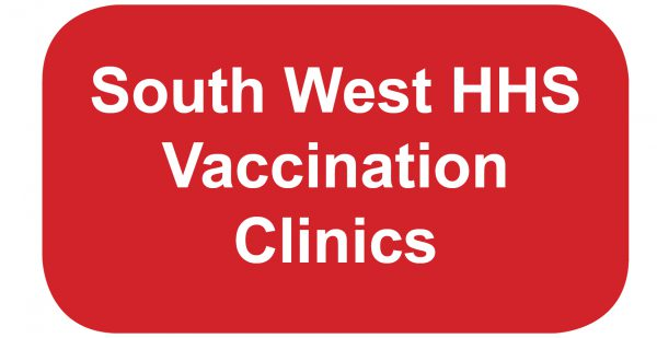 South West vaccination clinics